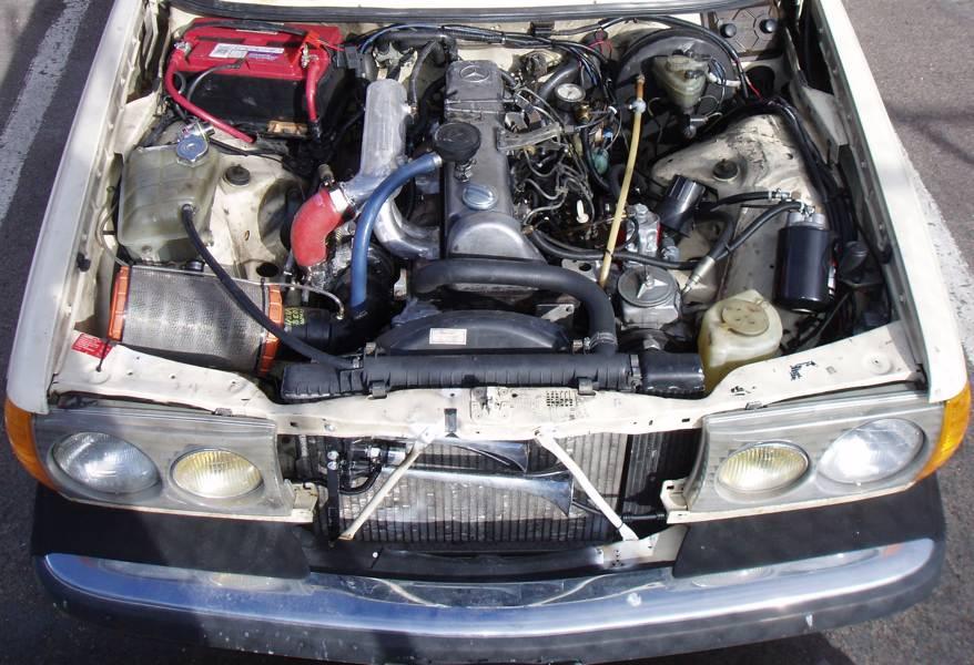 OM617 Turbo intake
