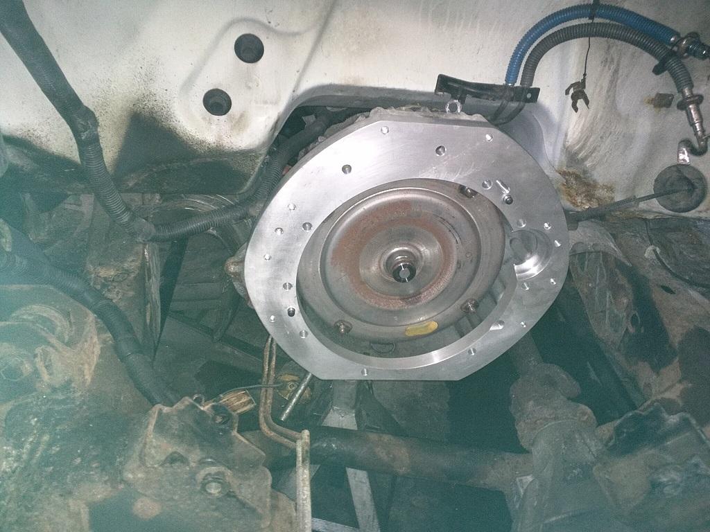 om606 962 swap into 1997 F150 4x4